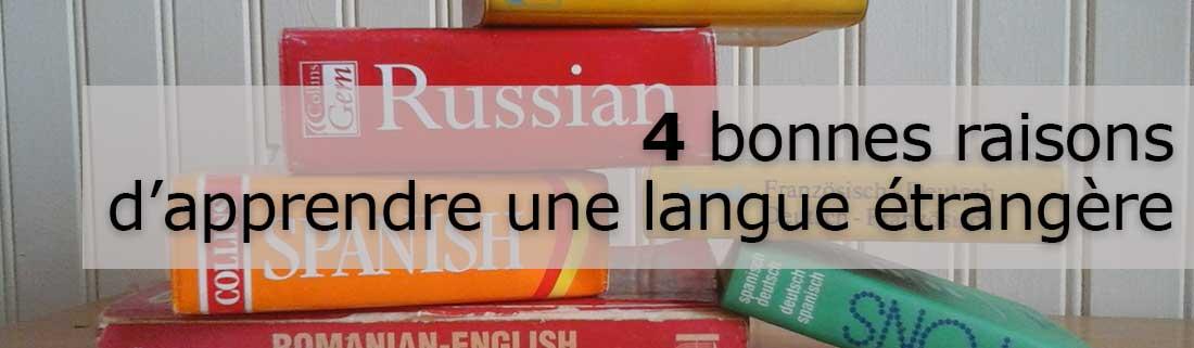 Pourquoi apprendre une nouvelle langue ?