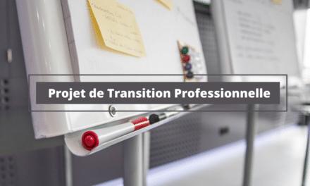 Projet de Transition Professionnelle : Courrier Type