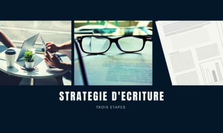 Tout savoir sur la stratégie d'écriture au travail