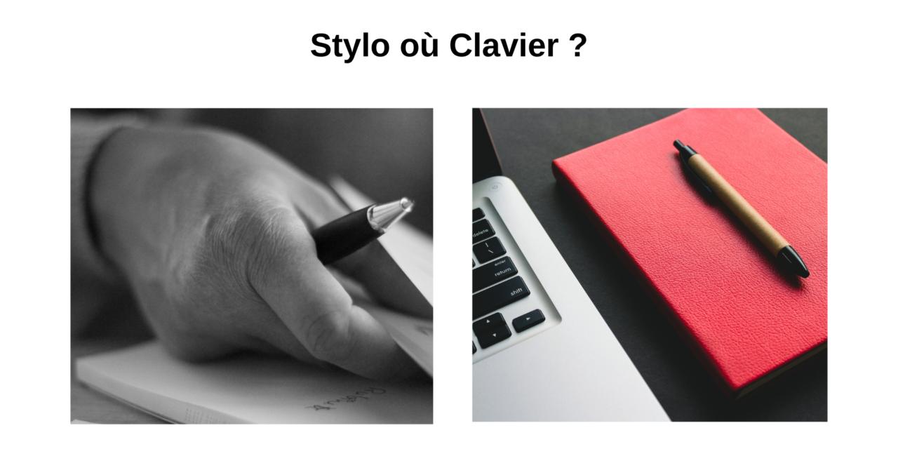 Bien écrire au travail : stylo ou clavier ?